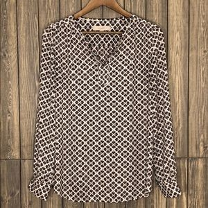 Loft Patterned Blouse